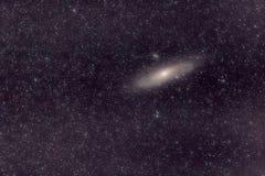 Галактика Андромеды играет главные роли вселенная стоковое изображение rf