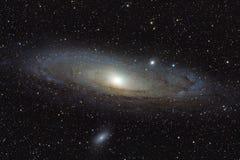 Галактика Андромеды Стоковое Изображение RF