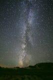 Галактика в Гоби Стоковые Фото