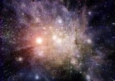 Галактика в открытом космосе Стоковые Изображения