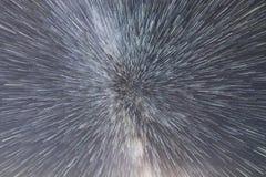 Галактика млечного пути Космический полет на скорости света Перемещение времени Стоковое Изображение