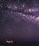 Галактика млечного пути Стоковое фото RF