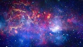 Галактика - элементы этого изображения поставленные NASA стоковые фотографии rf