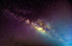 Галактика Milkyway стоковое изображение rf