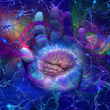 галактический разум Стоковая Фотография RF