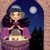 Гадалка к ноча Стоковая Фотография RF