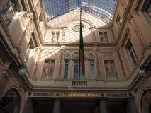 Галерея Губерта Святого королевская (Брюссель, Бельгия) Стоковые Фотографии RF