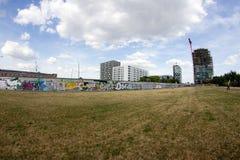 Галерея Ист-Сайд - искусство и граффити улицы в Берлине, Германии Стоковое Изображение