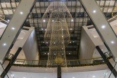 Галерея покупок на времени рождества Стоковые Фото