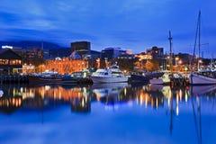 Галерея яхты гавани Хобарта Стоковые Фото