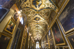 Галерея Doria Pamphilj, Рим, Италия Стоковые Фотографии RF