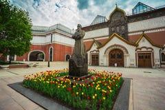 Галерея Tretyakov музей изобразительных искусств имея собрание русского искусства стоковые изображения rf