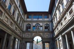 Галерея Uffizi - Флоренс стоковое изображение