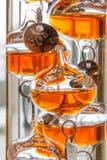 Галилеевский термометр стоковые фото