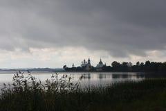 Гадкий ли вид на озеро Стоковое Изображение