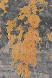 Гальванизированный откалывать краски металла стоковое фото rf