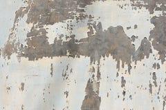 Гальванизированный откалывать краски металла стоковые изображения