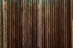 Гальванизированный стальной лист полный Стоковые Фотографии RF