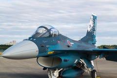 Гадюка нул Мицубиси F-2A Стоковые Изображения RF