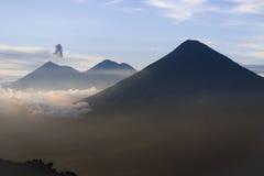 Гватемальский вулкан Стоковые Изображения RF