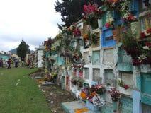 Гватемальское кладбище Стоковое Изображение