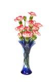 Гвоздики в вазе Стоковые Изображения
