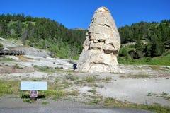 Гейзеры 3 национального парка Йеллоустона Стоковая Фотография