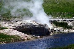 Гейзеры 29 национального парка Йеллоустона Стоковые Фото