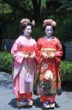 Гейша Киото Япония Стоковая Фотография
