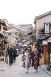 Гейши Киото Стоковая Фотография RF