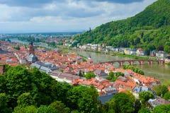 Гейдельберг, Германия Стоковые Изображения RF