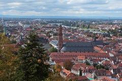 Гейдельберг, Германия Стоковая Фотография RF