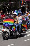 Гей-парад Нью-Йорка Стоковое фото RF