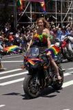 Гей-парад Нью-Йорка Стоковое Изображение RF