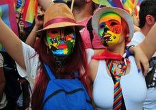 Гей-парад LGBT Стоковое Изображение RF