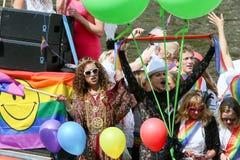 Гей-парад 2015 Амстердама Стоковое Изображение RF