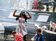 Гей-парад 2015 Амстердама Стоковое фото RF
