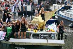 Гей-парад 2015 Амстердама Стоковое Изображение