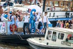 Гей-парад 2015 Амстердама Стоковая Фотография RF