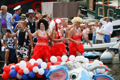 Гей-парад 2015 Амстердама Стоковые Изображения RF