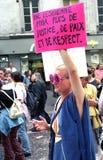 Гей-парад - Париж Стоковые Изображения