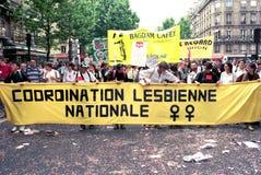Гей-парад - Париж Стоковое Изображение RF