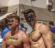 Гей-парад Тель-Авив Стоковые Фотографии RF
