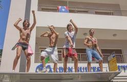 Гей-парад Тель-Авив Стоковые Изображения RF