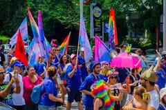 Гей-парад Хайфы одиннадцатый, 2017 стоковое изображение rf