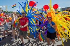 Гей-парад Стоковые Изображения RF