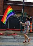 Гей-парад Fayetteville AR 2016 Стоковое Изображение