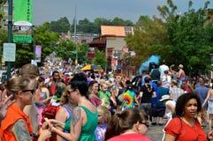 Гей-парад Fayetteville AR 2016 Стоковые Изображения RF