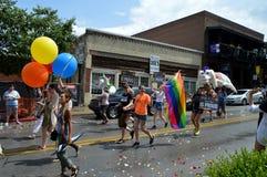 Гей-парад Fayetteville AR 2016 Стоковая Фотография