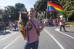 Гей-парад 2016 Genova Стоковое Изображение RF